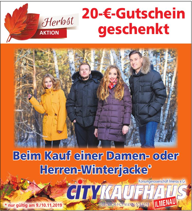 Konsumgenossenschaft Ilmenau e.G. City Kaufhaus