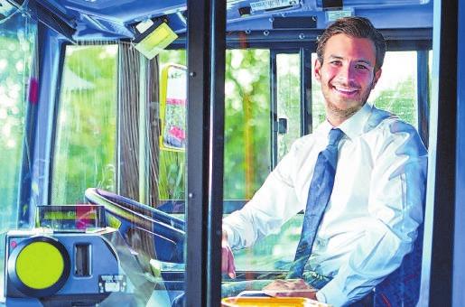Bus- und Lkw-Fahrer gehören ebenso zur Logistikbranche wie Schiffer, Eisenbahner oder Kurierfahrer. Foto: C.Yeulet/123rf.com/randstad