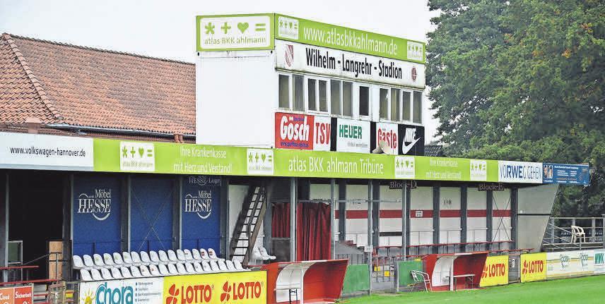 Nur für Dauerkartenbesitzer: Für die Heimspiele im Wilhelm-Langrehr-Stadion werden vorerst keine Tageskarten verkauft. Anke Lütjens