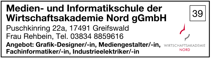 Medien- und Informatikschule der Wirtschaftsakademie Nord gGmbH