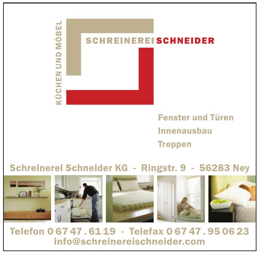 Schreinerei Schneider