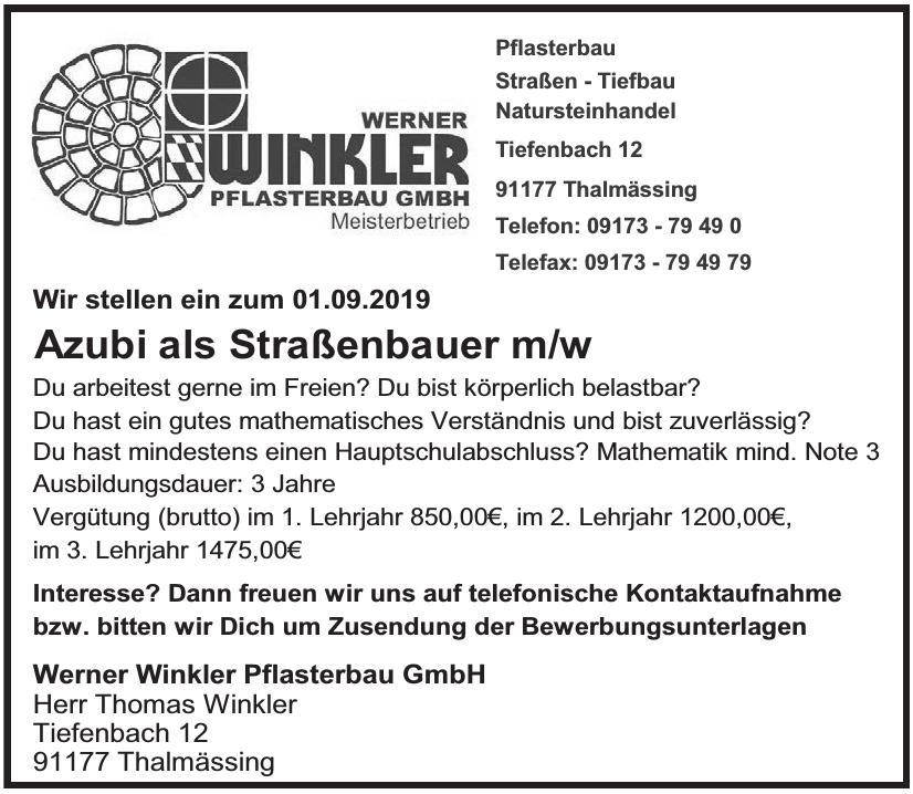 Werner Winkler Pflasterbau GmbH