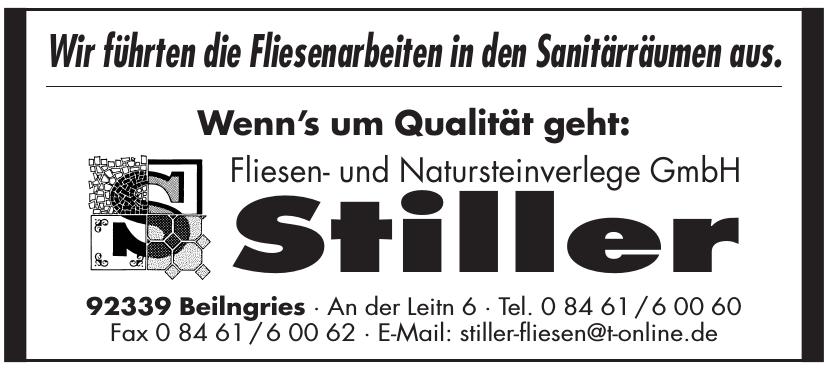 Stiller Fliesen- und Natursteinverlege GmbH