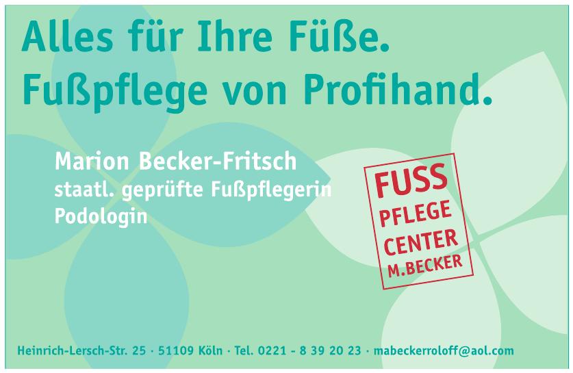 Marion Becker-Fritsch Fußpflegerin