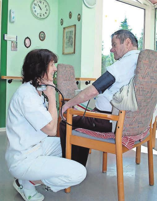 Auch eine medizinische Grundversorgung gehört zu den Angeboten.