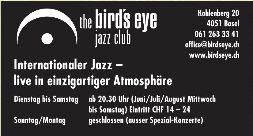 the bird's eye jazz club