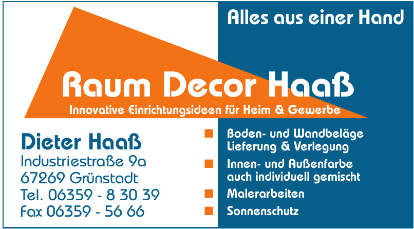 Raum Decor Haaß
