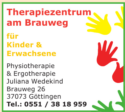 Therapiezentrum am Brauweg - Physiotherapie & Ergotherapie Juliana Wedekind