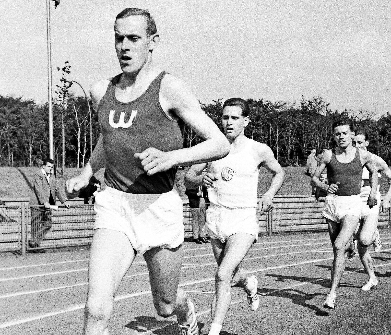 Früh vorn dabei: In sechziger Jahren hatte der VfL eine ganze Reihe von herausragenden Leichtathleten – hier Arno Krause 1965 beim Sportfest in Gelsenkirchen-Buer.