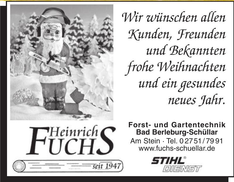 Heinrich Fuchs STIHL-Dienst