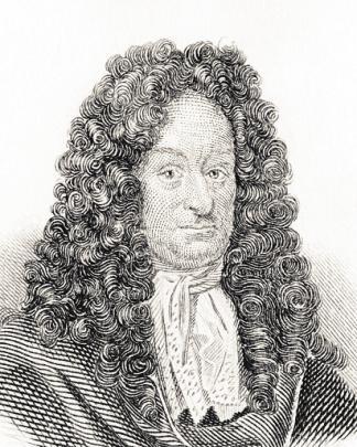 Den Mathematiker Gottfried Wilhelm Leibniz (1646–1716) interessierten die technischen Aspekte des Feuerwerks. FOTO: KEN WELSH / PA