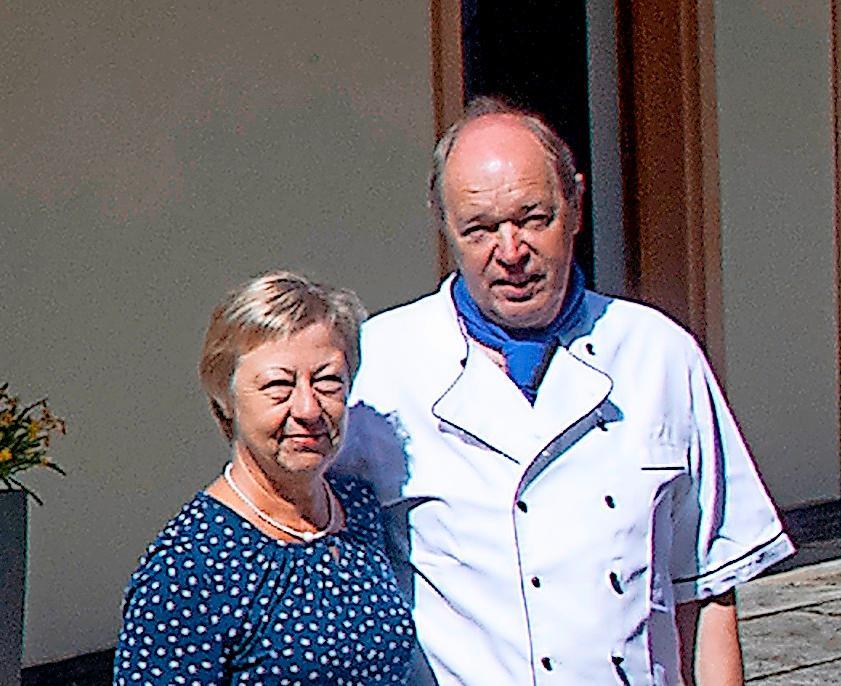 Das Wirtsehepaar Brigitte und Hansjörg Franz