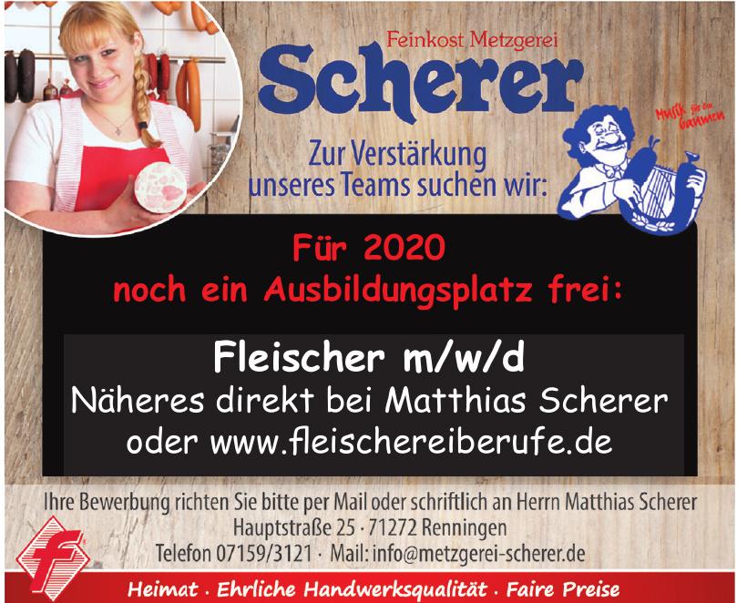 Feinkostmetzgerei Scherer