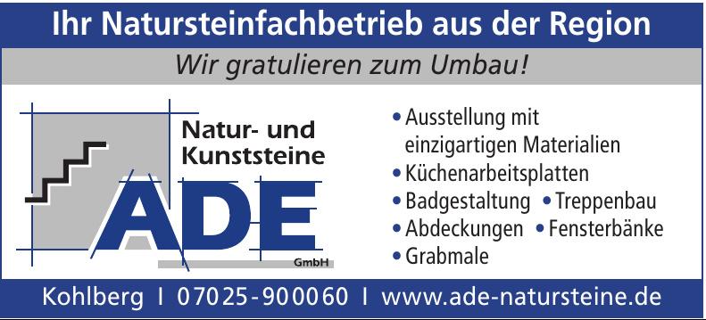 Natur- und Kunststeine ADE GmbH