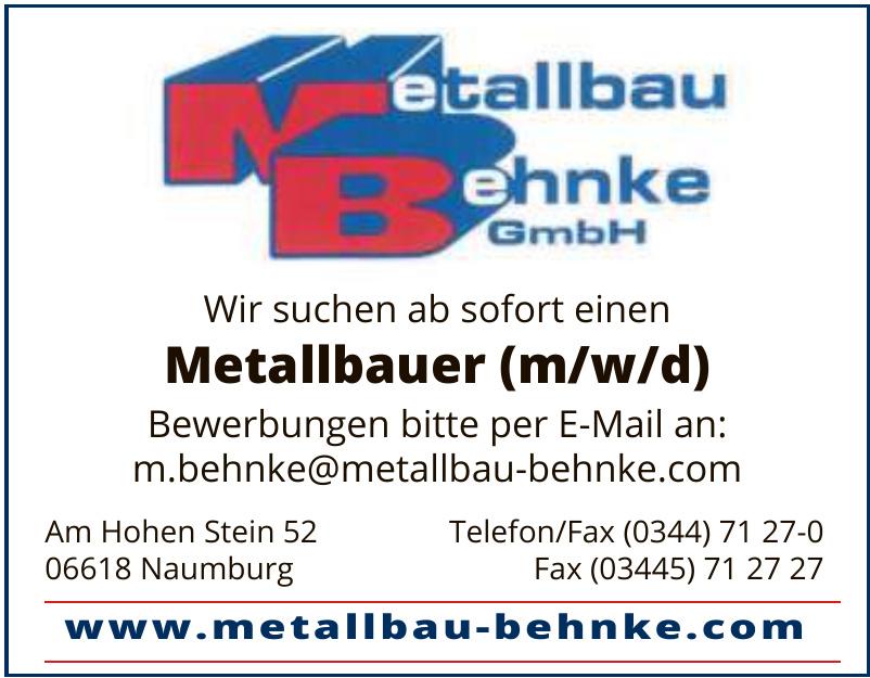 Metallbau Behnke GmbH