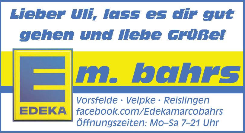Edeke Marco Bahrs