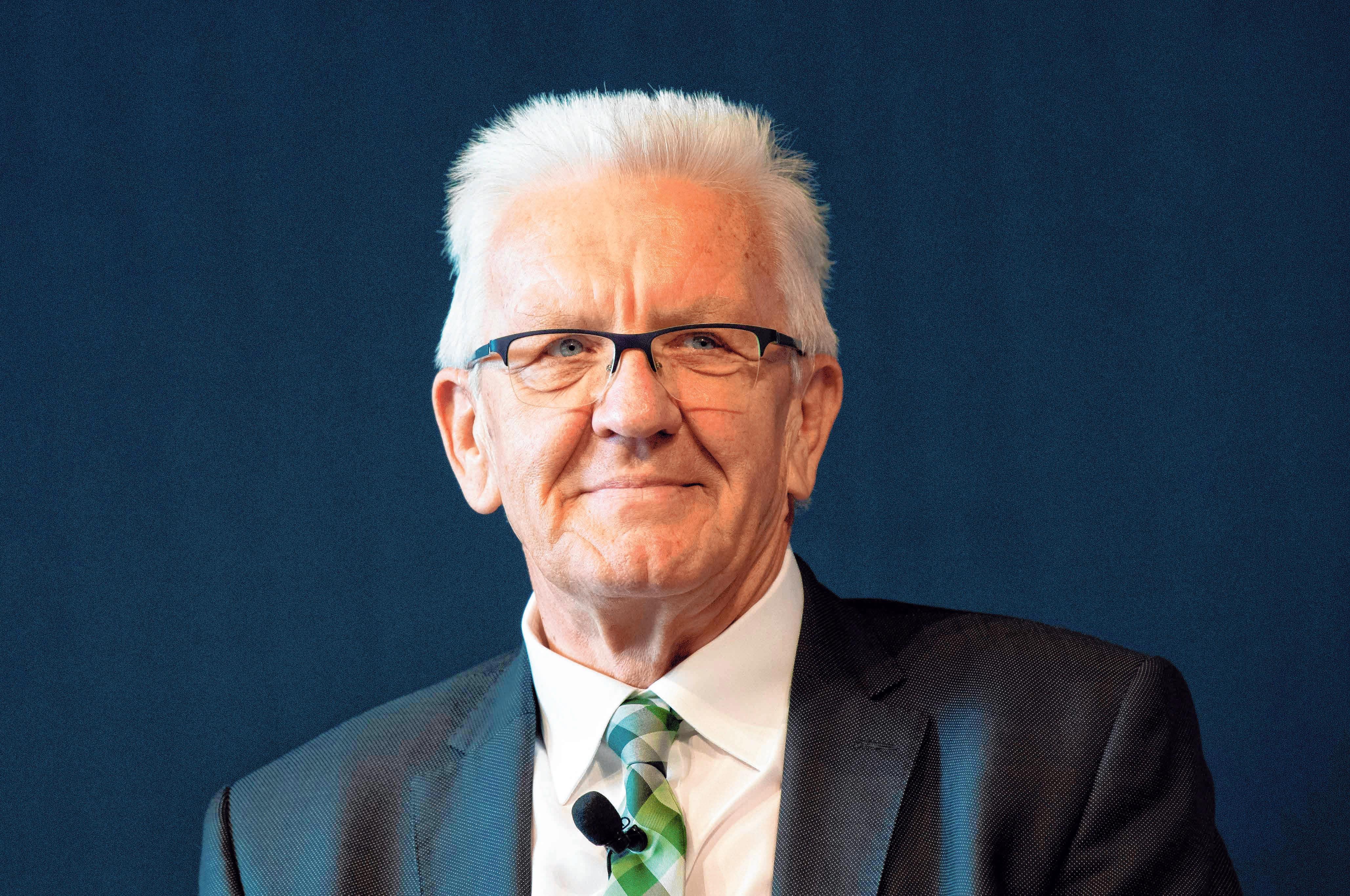 Ministerpräsident Winfried Kretschmann. FOTO: T. KIENZLE