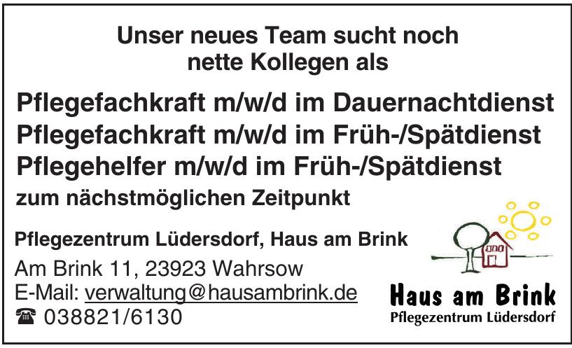 Pflegezentrum Lüdersdorf, Haus am Brink