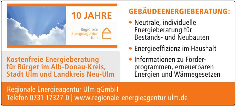Regionale Energieagentur Ulm gGmbH