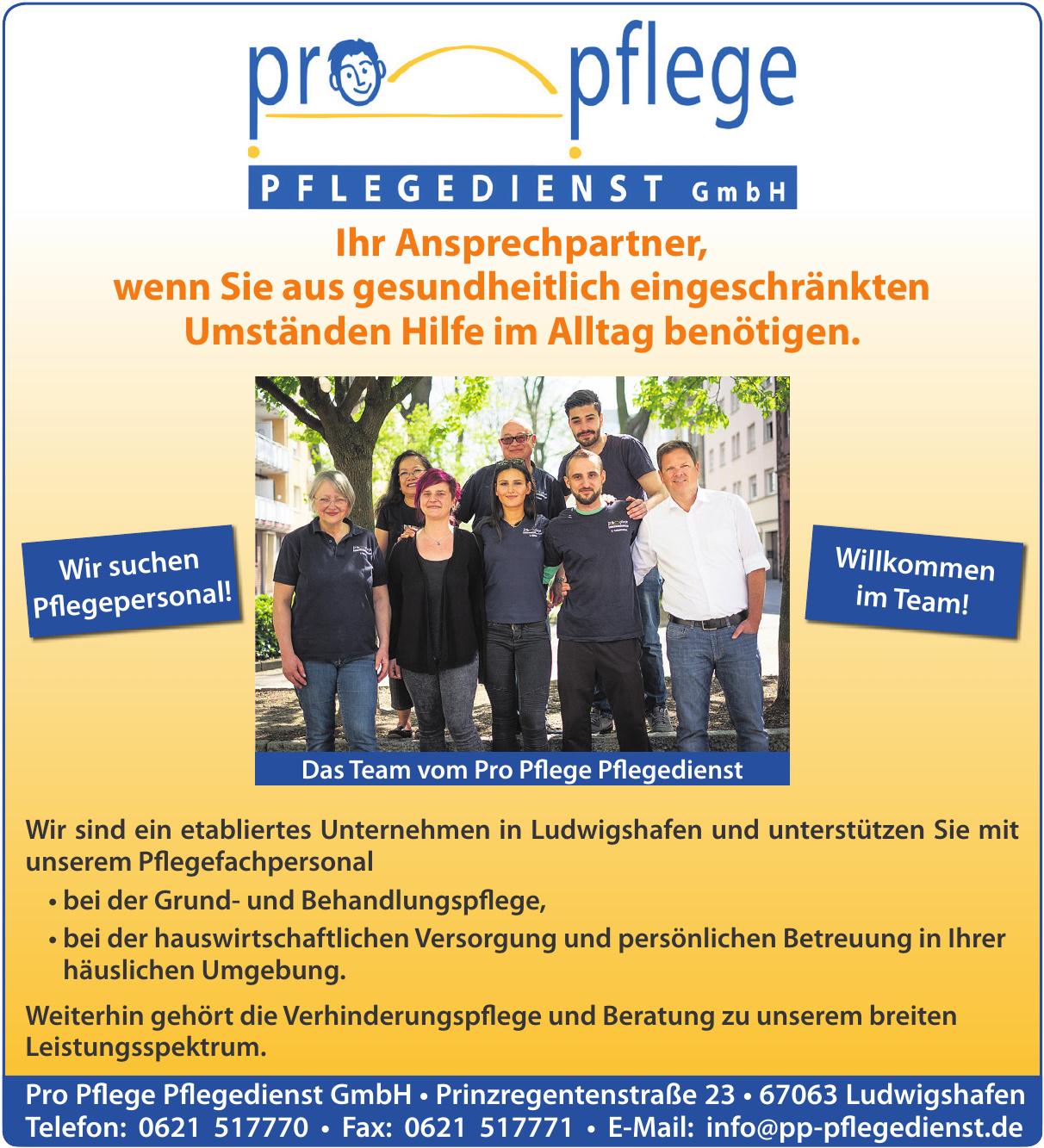 Pro Pflege Pflegedienst GmbH