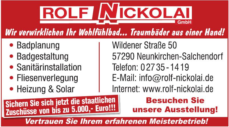 Rolf Nickolai