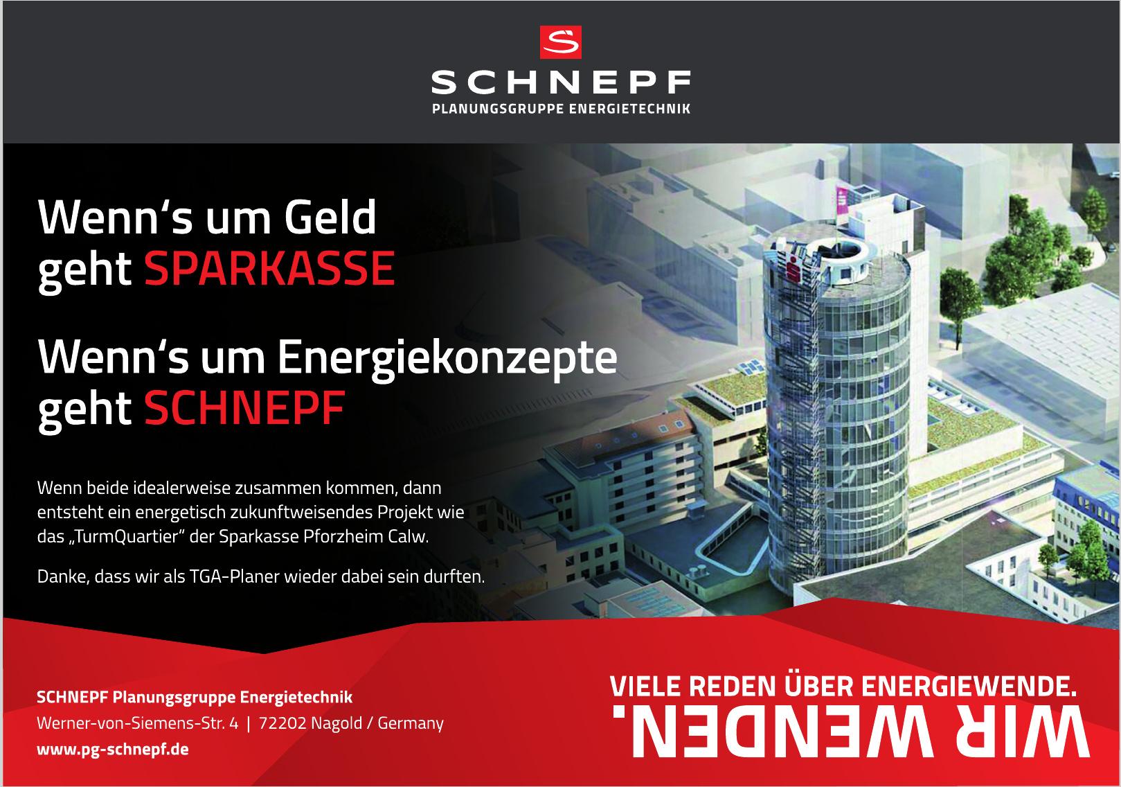 SCHNEPF Planungsgruppe Energietechnik
