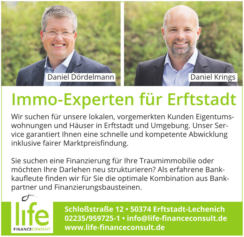 LIFE Finance Consult