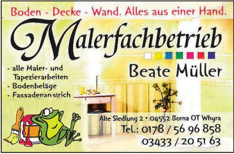 Makerfachbetrieb Beate Müller