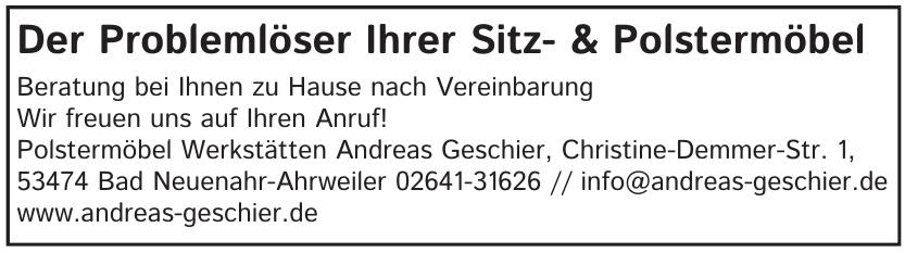 Polstermöbel Werkstätten Andreas Geschier