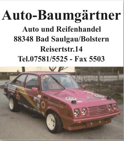 Auto-Baumgärtner