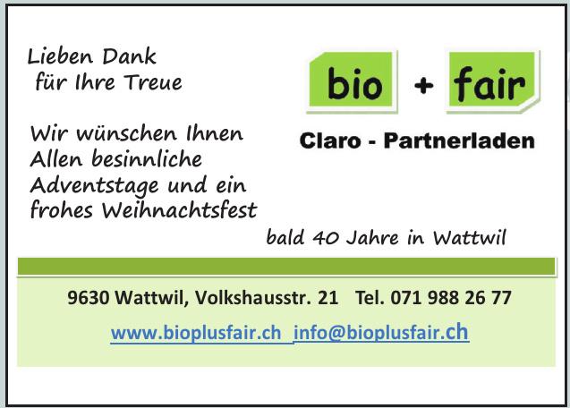 bio + fair Claro - Partnerladen
