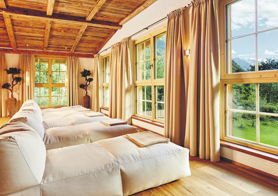 Relaxen mit Ausblick. Foto: Hotel Jagdhof