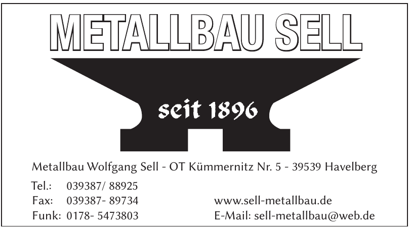 Metallbau Wolfgang Sell