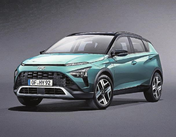Konkurrenz für VW T-Cross und Ford Puma: Der Hyundai Bayon wird im Juni lanciert – mit Benzin-Mild-Hybrid-Antrieb.