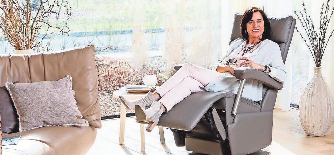 Der Kauf eines maßgeschneiderten Ruhesessels ist eine echte Investition in mehr Lebensqualität.Foto: hfr