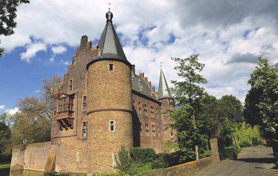 Die historische Burg Konradsheim bietet ein ansprechendes Ambiente und eignet sich für Hochzeiten oder andere große Feste. Bild: etfoto/stock.adobe.com