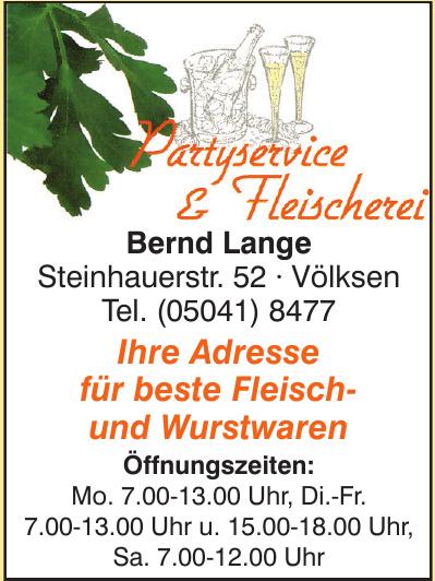 Partyservice & Fleischerei