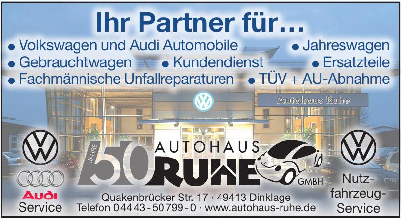Autohaus Ruhe GmbH