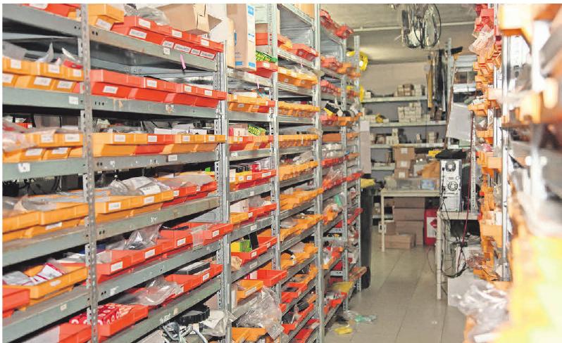 Für den Fall gibt es einen Lösung: Im gut sortierten Lager finden sich allegängigen Ersatzteile.