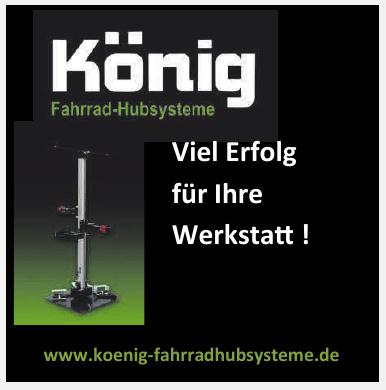 König Fahrrad-Hubsysteme