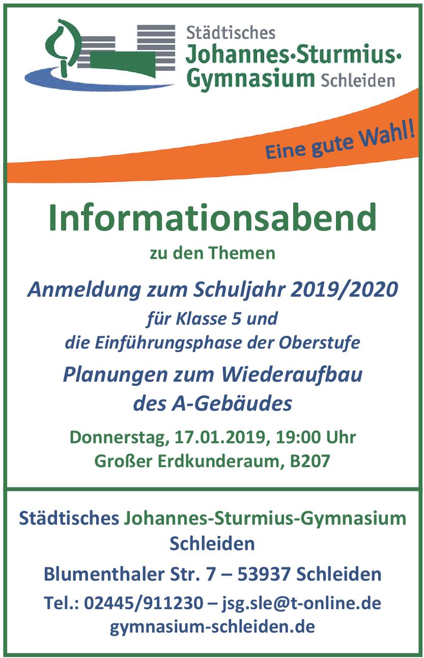 Städtisches Johannes-Sturmius-Gymnasium Schleiden