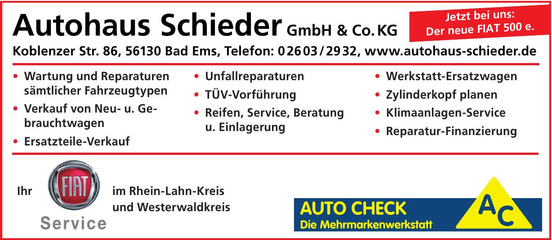 Autohaus Schieder GmbH & Co. KG