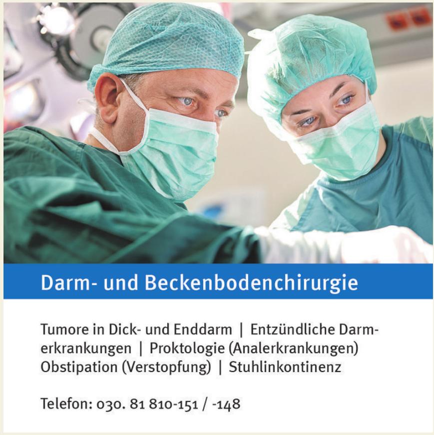 Darm- und Beckendobenchirurgie