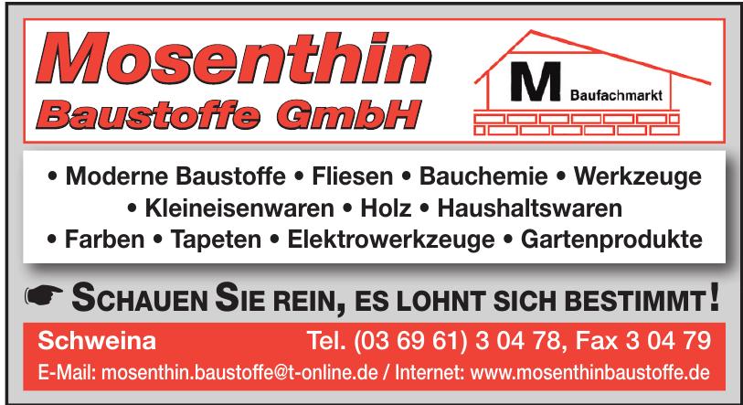 Mosenthin Baustoffe GmbH
