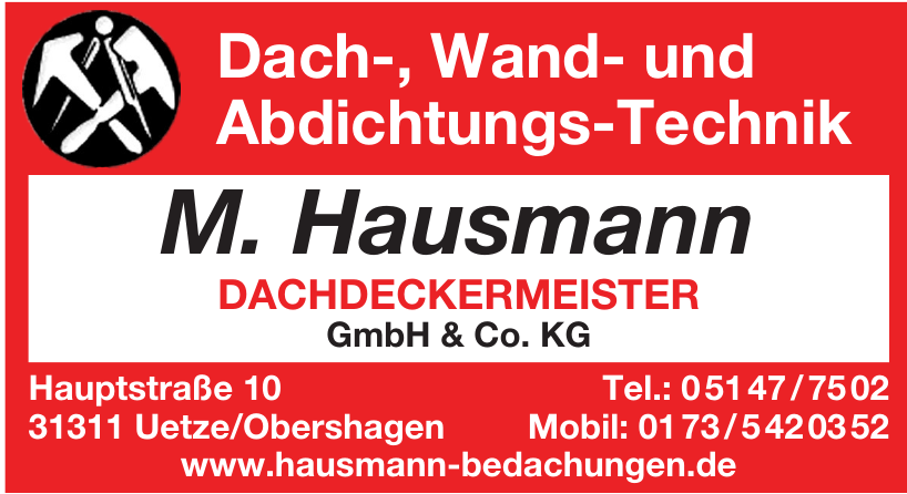 M. Hausmann Dachdeckermeister GmbH & Co. KG