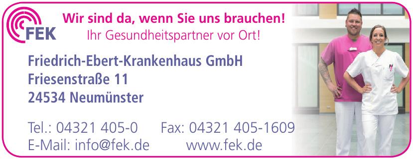Friedrich-Ebert-Krankenhaus GmbH