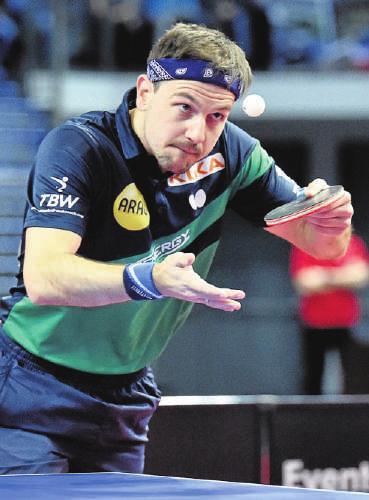 In diesem Jahr wurde Timo Boll zum 13. Mal Deutscher Meister.FOTO: REVIERFOTO / PA