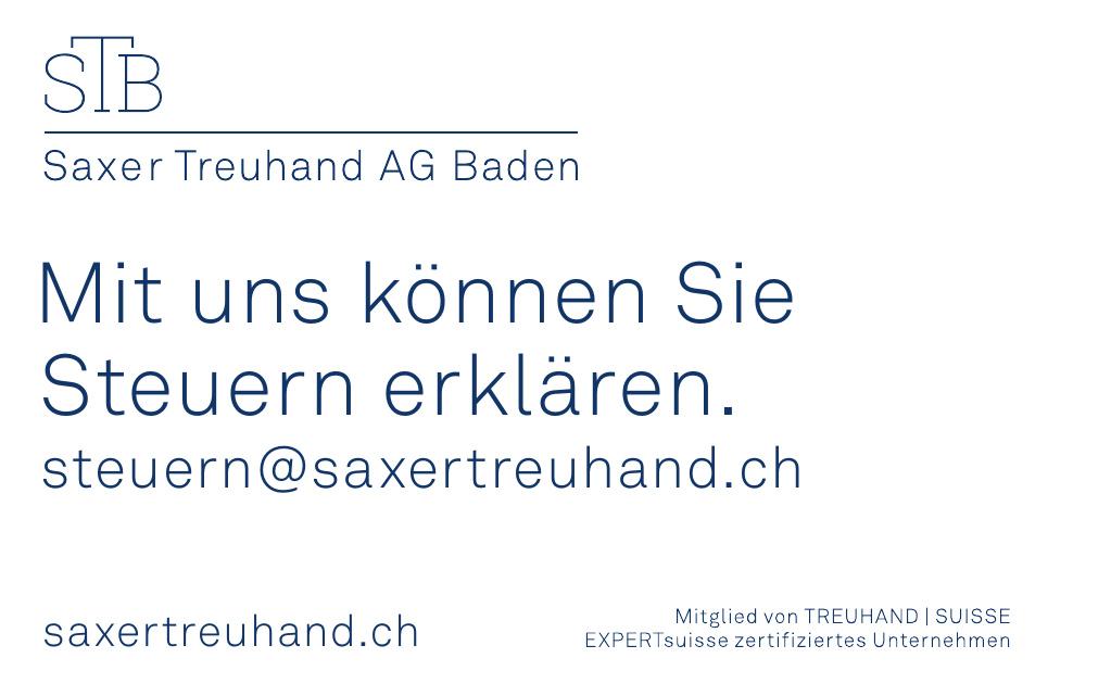 STB Saxer Treuhand AG Baden