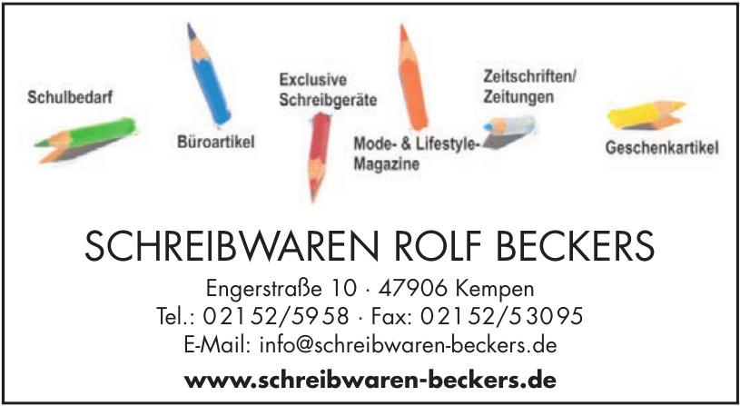 Schreibwaren Rolf Beckers