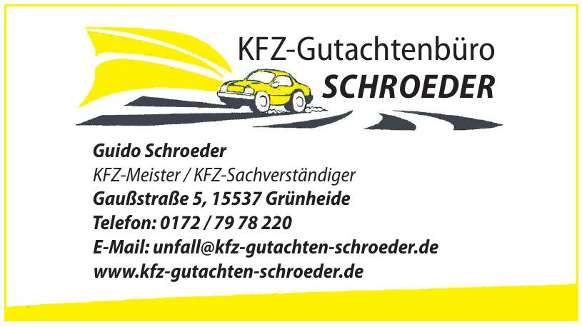 KFZ-Gutachtenbüro SCHROEDER